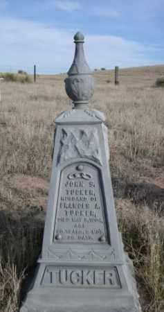 TUCKER, JOHN S. - Sioux County, Nebraska | JOHN S. TUCKER - Nebraska Gravestone Photos