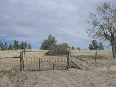 *UNION STAR CEMETERY, ENTRANCE GATE TO - Sioux County, Nebraska | ENTRANCE GATE TO *UNION STAR CEMETERY - Nebraska Gravestone Photos