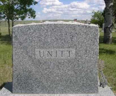 UNITT, FAMILY - Sioux County, Nebraska | FAMILY UNITT - Nebraska Gravestone Photos