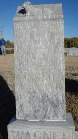 WAGNER, MINNIE - Sioux County, Nebraska | MINNIE WAGNER - Nebraska Gravestone Photos