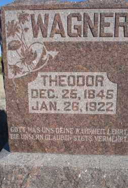 WAGNER, THEODOR - Sioux County, Nebraska | THEODOR WAGNER - Nebraska Gravestone Photos