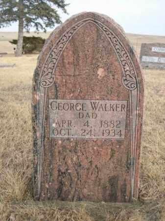 WALKER, GEORGE - Sioux County, Nebraska | GEORGE WALKER - Nebraska Gravestone Photos