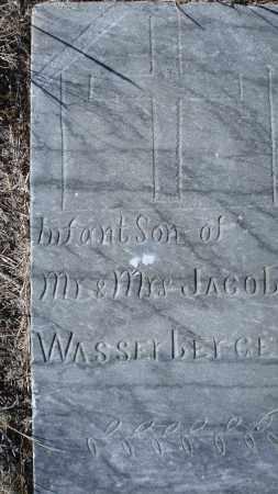 WASSERBERGER, INFANT SON - Sioux County, Nebraska   INFANT SON WASSERBERGER - Nebraska Gravestone Photos
