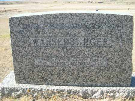 WASSERBURGER, CHRIS - Sioux County, Nebraska | CHRIS WASSERBURGER - Nebraska Gravestone Photos