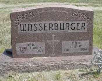 WASSERBURGER, LOLA M. - Sioux County, Nebraska | LOLA M. WASSERBURGER - Nebraska Gravestone Photos