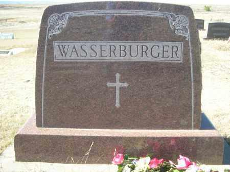 WASSERBURGER, FAMILY - Sioux County, Nebraska | FAMILY WASSERBURGER - Nebraska Gravestone Photos