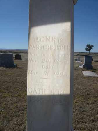 WASSERBURGER, CATHERINE - Sioux County, Nebraska   CATHERINE WASSERBURGER - Nebraska Gravestone Photos