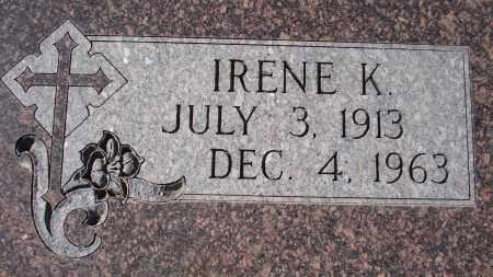 WASSERBURGER, IRENE K. - Sioux County, Nebraska   IRENE K. WASSERBURGER - Nebraska Gravestone Photos