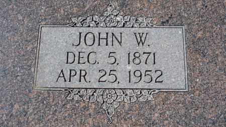 WASSERBURGER, JOHN W. - Sioux County, Nebraska | JOHN W. WASSERBURGER - Nebraska Gravestone Photos
