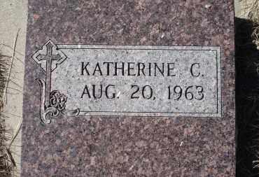 WASSERBURGER, KATHERINE C. - Sioux County, Nebraska | KATHERINE C. WASSERBURGER - Nebraska Gravestone Photos