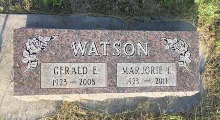WATSON, GERALD E. - Sioux County, Nebraska | GERALD E. WATSON - Nebraska Gravestone Photos