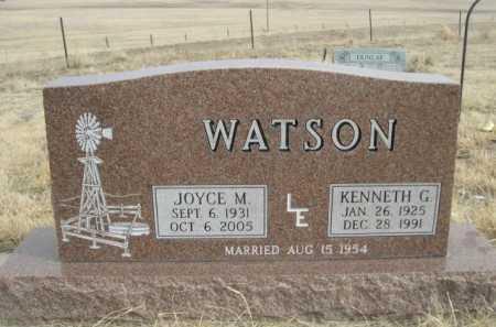 WATSON, JOYCE M. - Sioux County, Nebraska | JOYCE M. WATSON - Nebraska Gravestone Photos