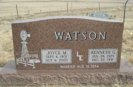 WATSON, KENNETH G. - Sioux County, Nebraska | KENNETH G. WATSON - Nebraska Gravestone Photos
