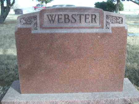 WEBSTER, FAMILY - Sioux County, Nebraska | FAMILY WEBSTER - Nebraska Gravestone Photos