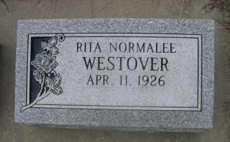 WESTOVER, RITA NORMALEE - Sioux County, Nebraska | RITA NORMALEE WESTOVER - Nebraska Gravestone Photos