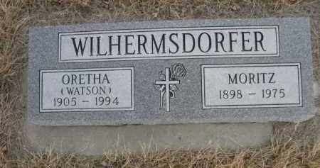 WATSON WILHERMSDORFER, ORETHA - Sioux County, Nebraska | ORETHA WATSON WILHERMSDORFER - Nebraska Gravestone Photos