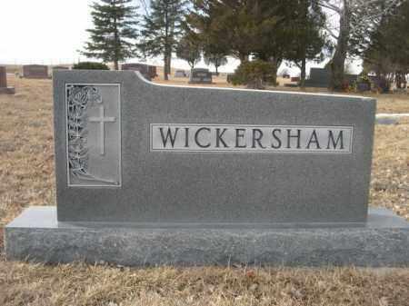WICKERSHAM, FAMILY - Sioux County, Nebraska | FAMILY WICKERSHAM - Nebraska Gravestone Photos