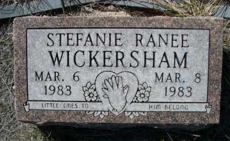 WICKERSHAM, STEFANIE RANEE - Sioux County, Nebraska   STEFANIE RANEE WICKERSHAM - Nebraska Gravestone Photos