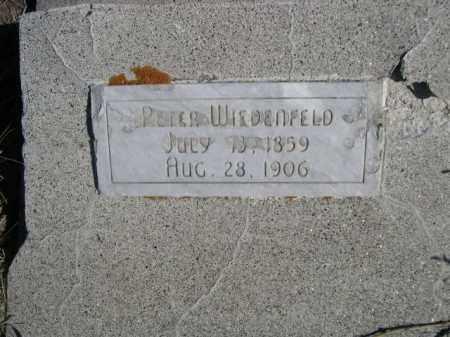WIEDENFELD, PETER - Sioux County, Nebraska   PETER WIEDENFELD - Nebraska Gravestone Photos