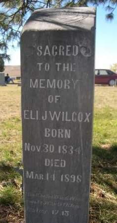 WILCOX, ELI J. - Sioux County, Nebraska   ELI J. WILCOX - Nebraska Gravestone Photos
