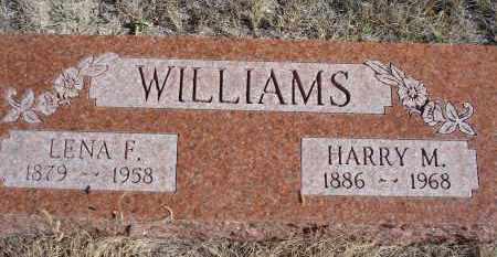 WILLIAMS, LENA F. - Sioux County, Nebraska   LENA F. WILLIAMS - Nebraska Gravestone Photos