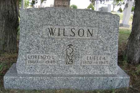 WILSON, LORENZO L. - Sioux County, Nebraska | LORENZO L. WILSON - Nebraska Gravestone Photos