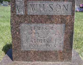 WILSON, CAROLINE F. - Sioux County, Nebraska | CAROLINE F. WILSON - Nebraska Gravestone Photos