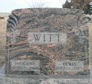 WITT, LEWIS - Sioux County, Nebraska | LEWIS WITT - Nebraska Gravestone Photos