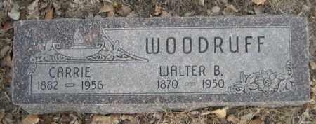 WOODRUFF, CARRIE - Sioux County, Nebraska | CARRIE WOODRUFF - Nebraska Gravestone Photos