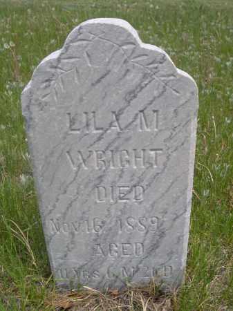WRIGHT, LILA M. - Sioux County, Nebraska | LILA M. WRIGHT - Nebraska Gravestone Photos