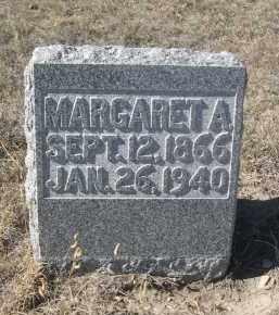 WUNDER, MARGARET A. - Sioux County, Nebraska | MARGARET A. WUNDER - Nebraska Gravestone Photos