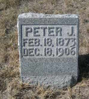 WUNDER, PETER J. - Sioux County, Nebraska | PETER J. WUNDER - Nebraska Gravestone Photos