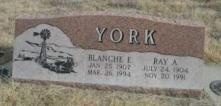 YORK, RAY A. - Sioux County, Nebraska | RAY A. YORK - Nebraska Gravestone Photos