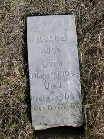 ZERBST, GRACE ROSE - Sioux County, Nebraska | GRACE ROSE ZERBST - Nebraska Gravestone Photos