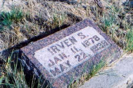 ZIMMERMAN, IRVEN SAMUEL - Sioux County, Nebraska | IRVEN SAMUEL ZIMMERMAN - Nebraska Gravestone Photos
