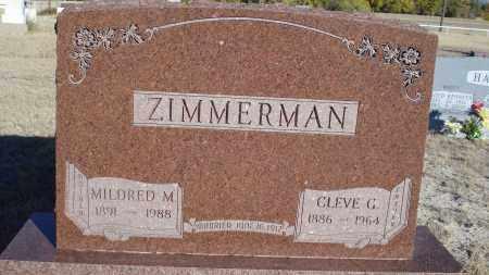 ZIMMERMAN, CLEVE G. - Sioux County, Nebraska | CLEVE G. ZIMMERMAN - Nebraska Gravestone Photos