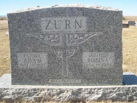ZURN, ROSINA - Sioux County, Nebraska | ROSINA ZURN - Nebraska Gravestone Photos