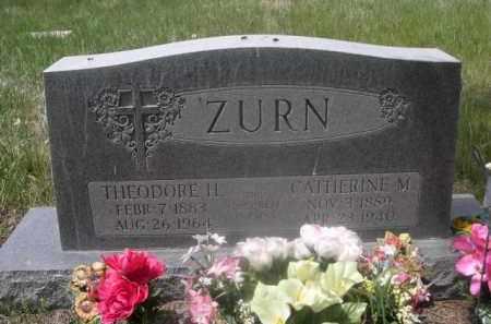 ZURN, CATHERINE M. - Sioux County, Nebraska | CATHERINE M. ZURN - Nebraska Gravestone Photos