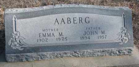 AABERG, EMMA M. - Stanton County, Nebraska   EMMA M. AABERG - Nebraska Gravestone Photos