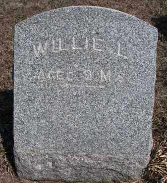 ACKERMAN, WILLIE L. - Stanton County, Nebraska   WILLIE L. ACKERMAN - Nebraska Gravestone Photos