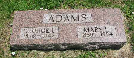 ADAMS, GEORGE L. - Stanton County, Nebraska | GEORGE L. ADAMS - Nebraska Gravestone Photos