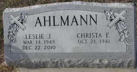 AHLMANN, CHRISTA E. - Stanton County, Nebraska | CHRISTA E. AHLMANN - Nebraska Gravestone Photos