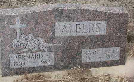 ALBERS, MARCELLA M. - Stanton County, Nebraska   MARCELLA M. ALBERS - Nebraska Gravestone Photos