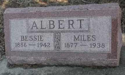 ALBERT, MILES - Stanton County, Nebraska | MILES ALBERT - Nebraska Gravestone Photos