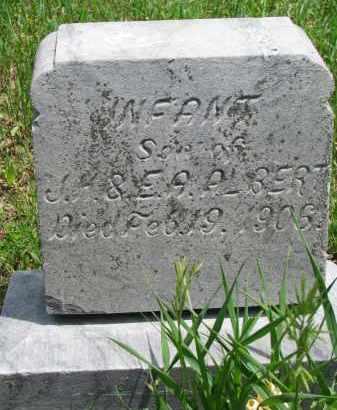 ALBERT, INFANT SON - Stanton County, Nebraska   INFANT SON ALBERT - Nebraska Gravestone Photos