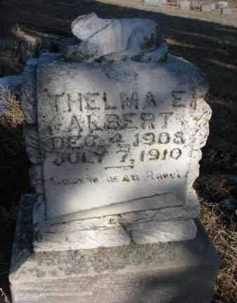 ALBERT, THELMA E. - Stanton County, Nebraska | THELMA E. ALBERT - Nebraska Gravestone Photos