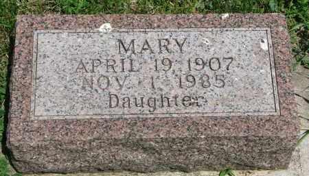 ALDERMAN, MARY - Stanton County, Nebraska | MARY ALDERMAN - Nebraska Gravestone Photos