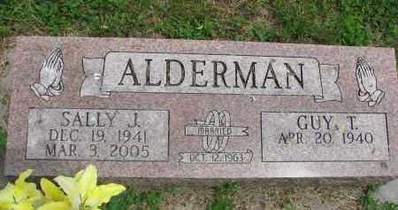 ALDERMAN, SALLY J. - Stanton County, Nebraska | SALLY J. ALDERMAN - Nebraska Gravestone Photos