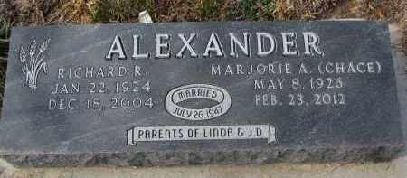 ALEXANDER, RICHARD R. - Stanton County, Nebraska | RICHARD R. ALEXANDER - Nebraska Gravestone Photos