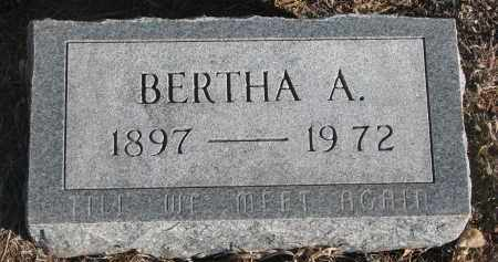 ALKIRE, BERTHA A. - Stanton County, Nebraska | BERTHA A. ALKIRE - Nebraska Gravestone Photos